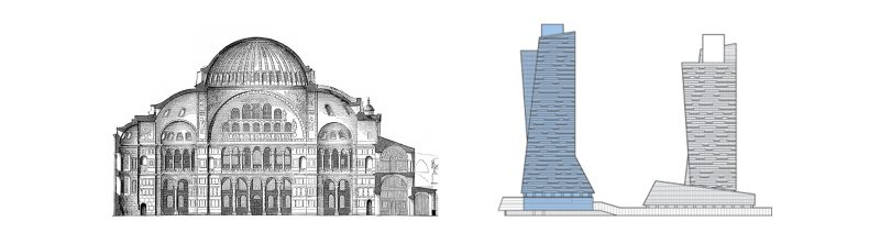 A Tale of Two Buildings in Istanbul