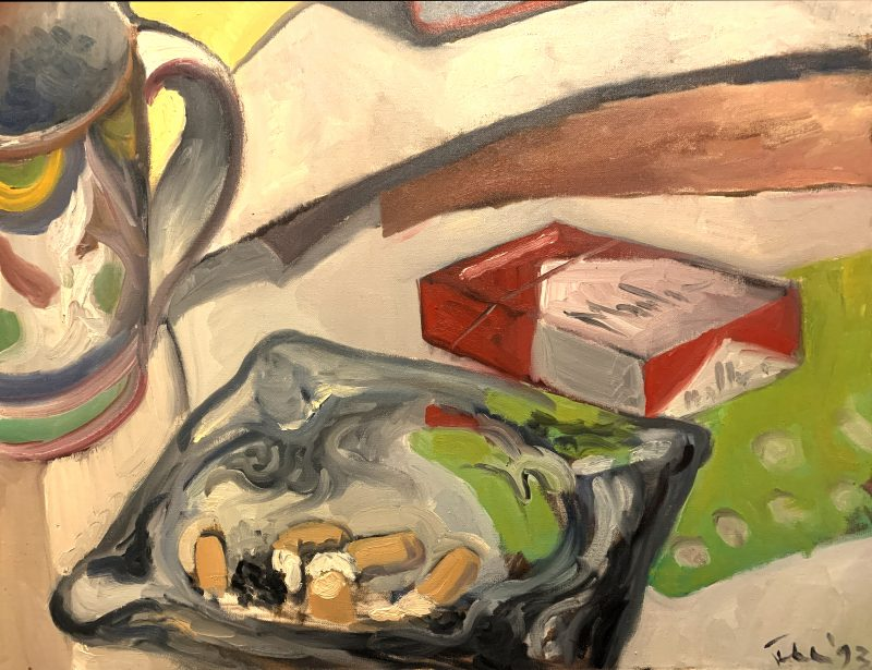 Still Life With Ashtray
